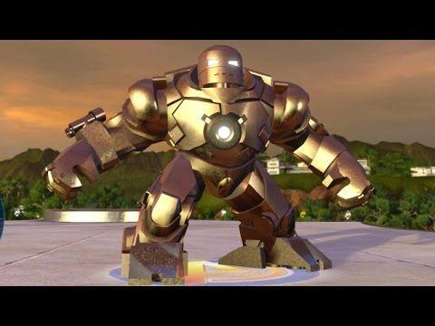 Lego Marvel S Avengers Iron Monger Unlock Open World Free Roam Character Showcase Lego Marvel Lego Marvel S Avengers Avengers