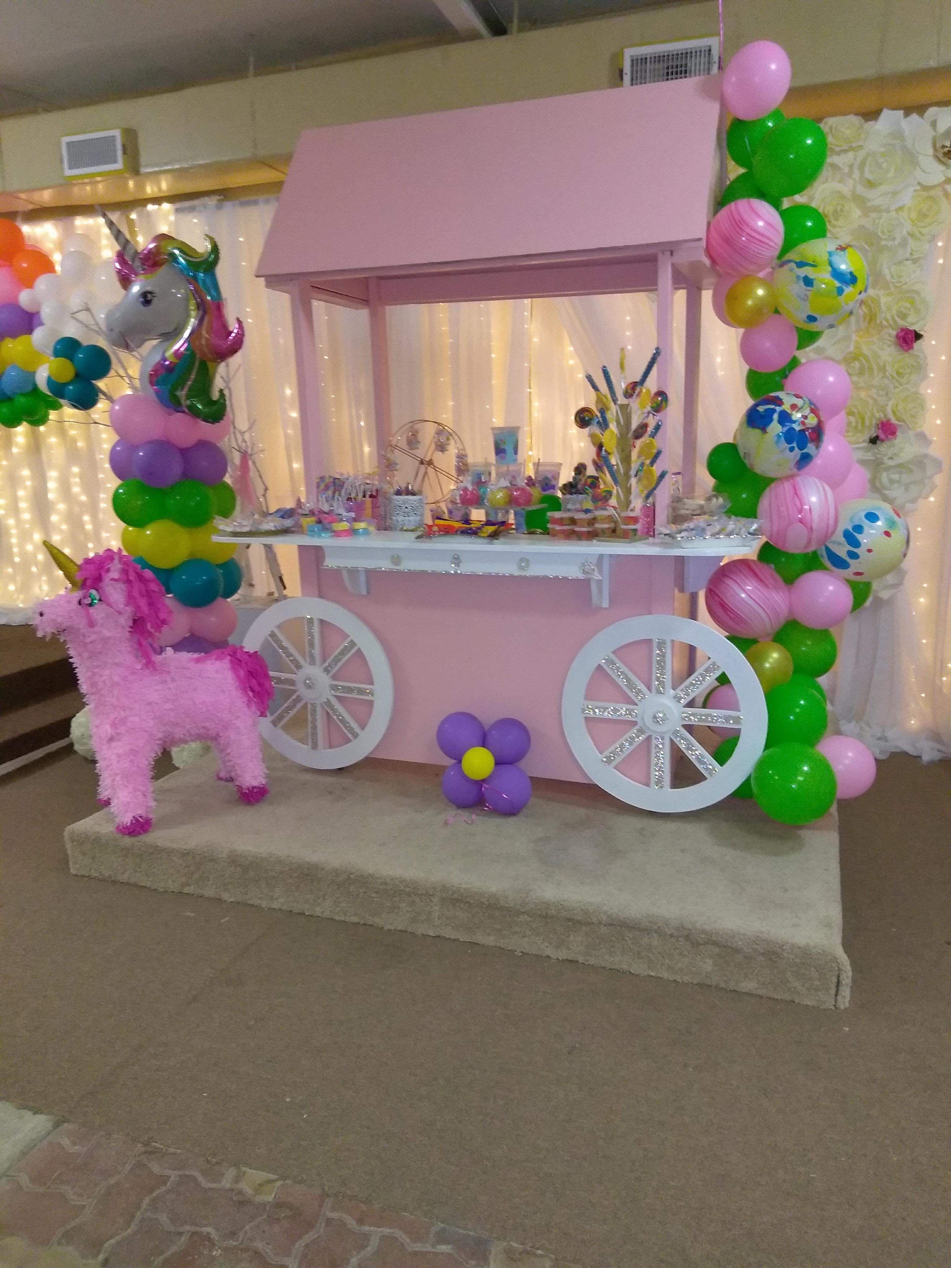 Unicorn Candy Buffet Candy Buffet Birthday Party Unicorn Party Unicorn Birthday
