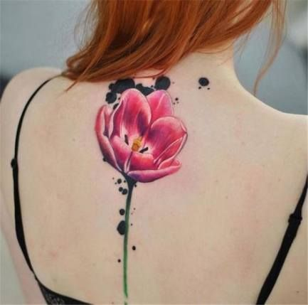 Womens Flower Tattoo Water Colors 18+ Ideas For 2019 #tattoo #womens