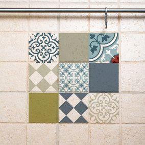 Decorative Tile Mix Tile Decals Kitchenbathroom Tiles Vinyl Floor Tiles Free