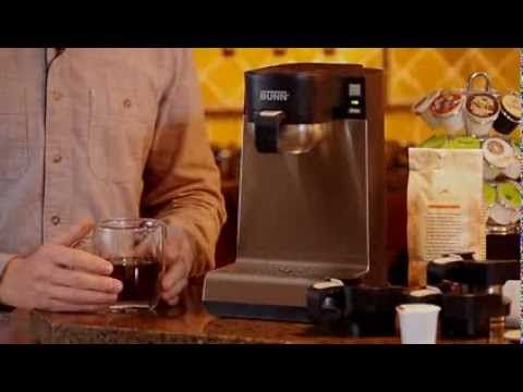Bunn My Cafe Mcu Is A Single Cup Multi Use Brewer That Gives You The Ultimate Brewing Flexibility It Comes With Four Separa Single Cup Bunn Drip Coffee Maker