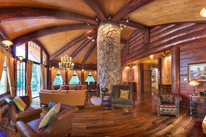 Luxury Log Cabin Homes Wsj Mansion Wsj Com