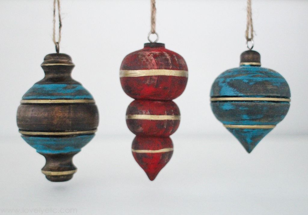 Wooden Christmas Ornaments Part - 33: Rustic Wooden Christmas Ornaments