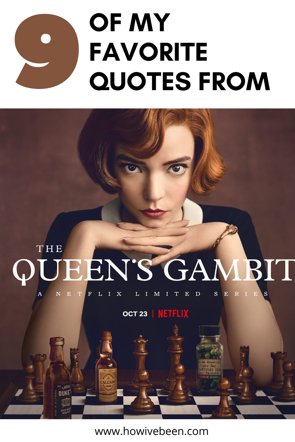 9 Real Life Lesson Quotes From The Queen's Gambit - how i've been