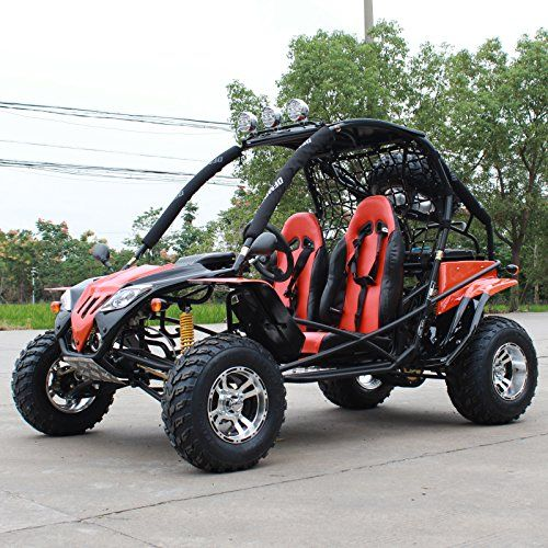 DONGFANG GOKART Warrior DF200GKF 169CC Off Road Sports Buggy Black