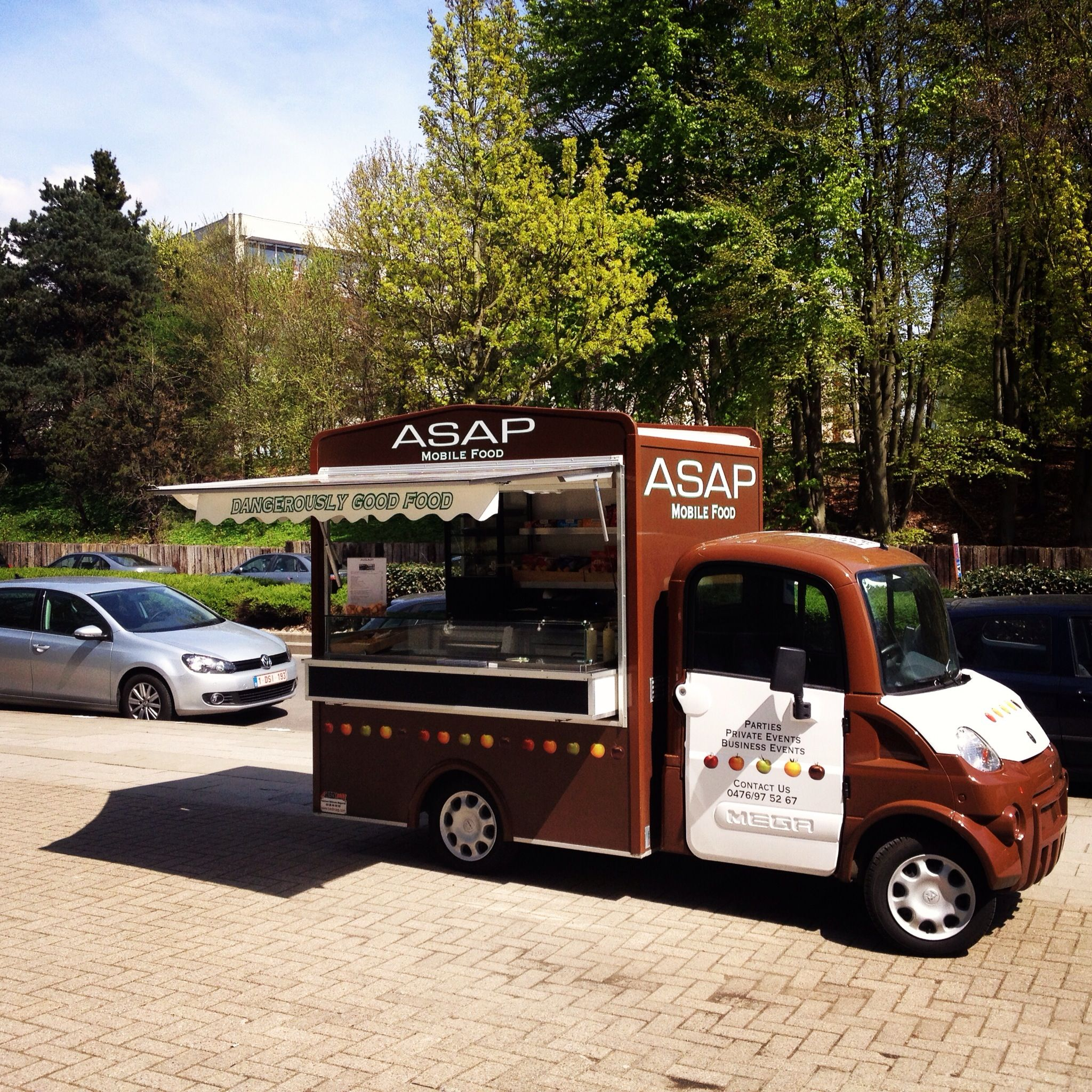 Asap brussels mobile food trucklarge variety of home