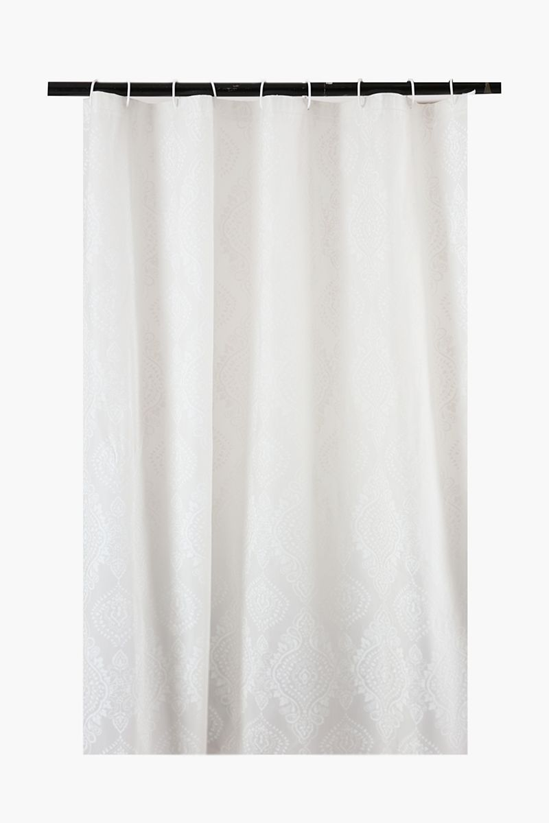 Frosted Damask Shower Curtain Shower Curtains Shop Bathroom