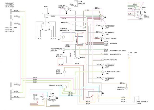Ignition Switch Wiring Diagram Chevy