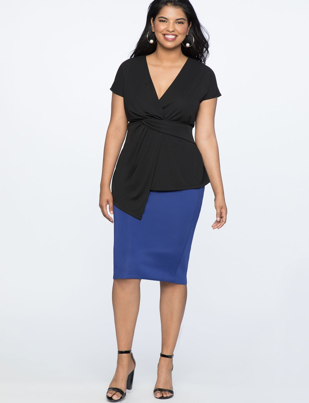 28d7d9a2518212 Twist Front Top | Women's Plus Size Tops | Clothes Shopping Sites ...