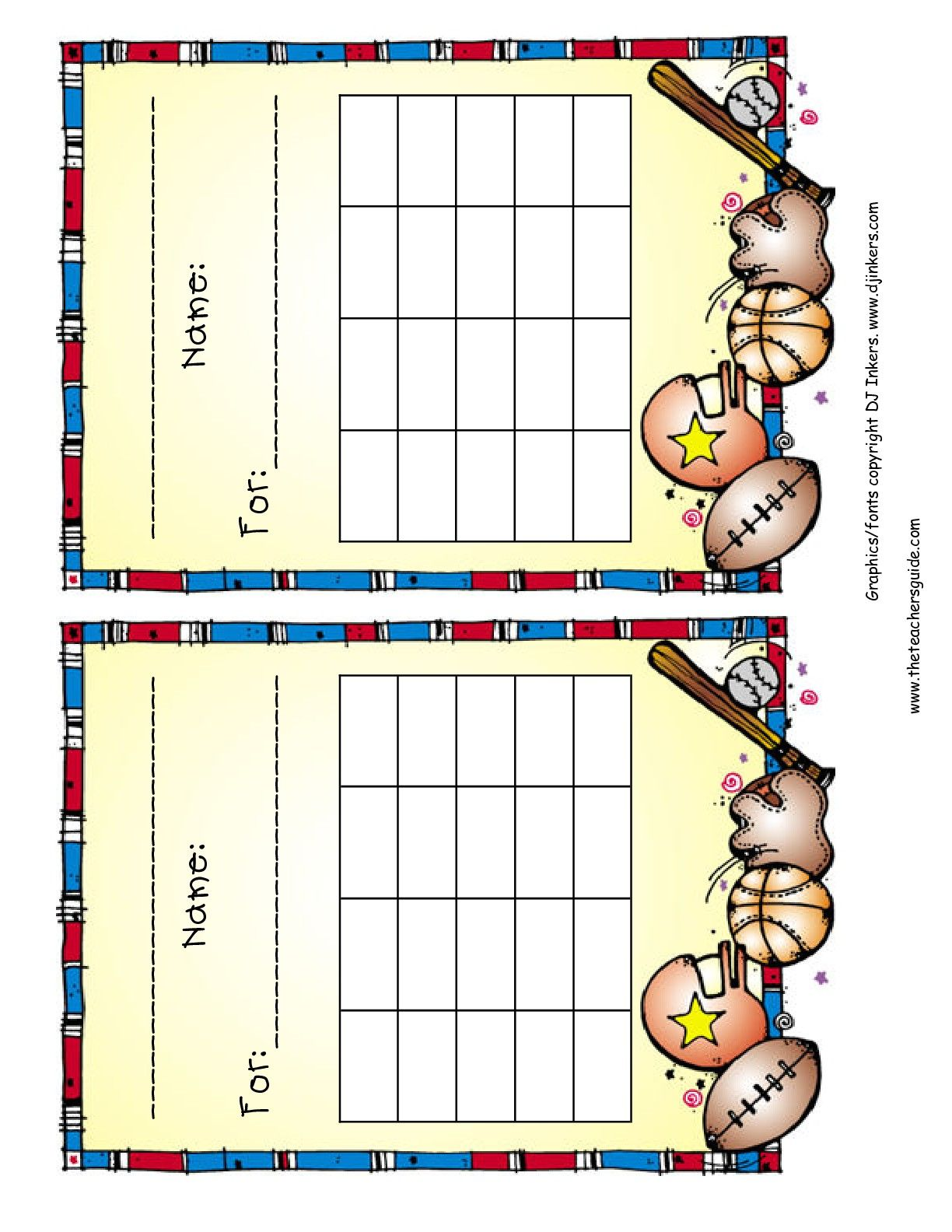 Reward Chart Printout  Projects To Try    Behavior
