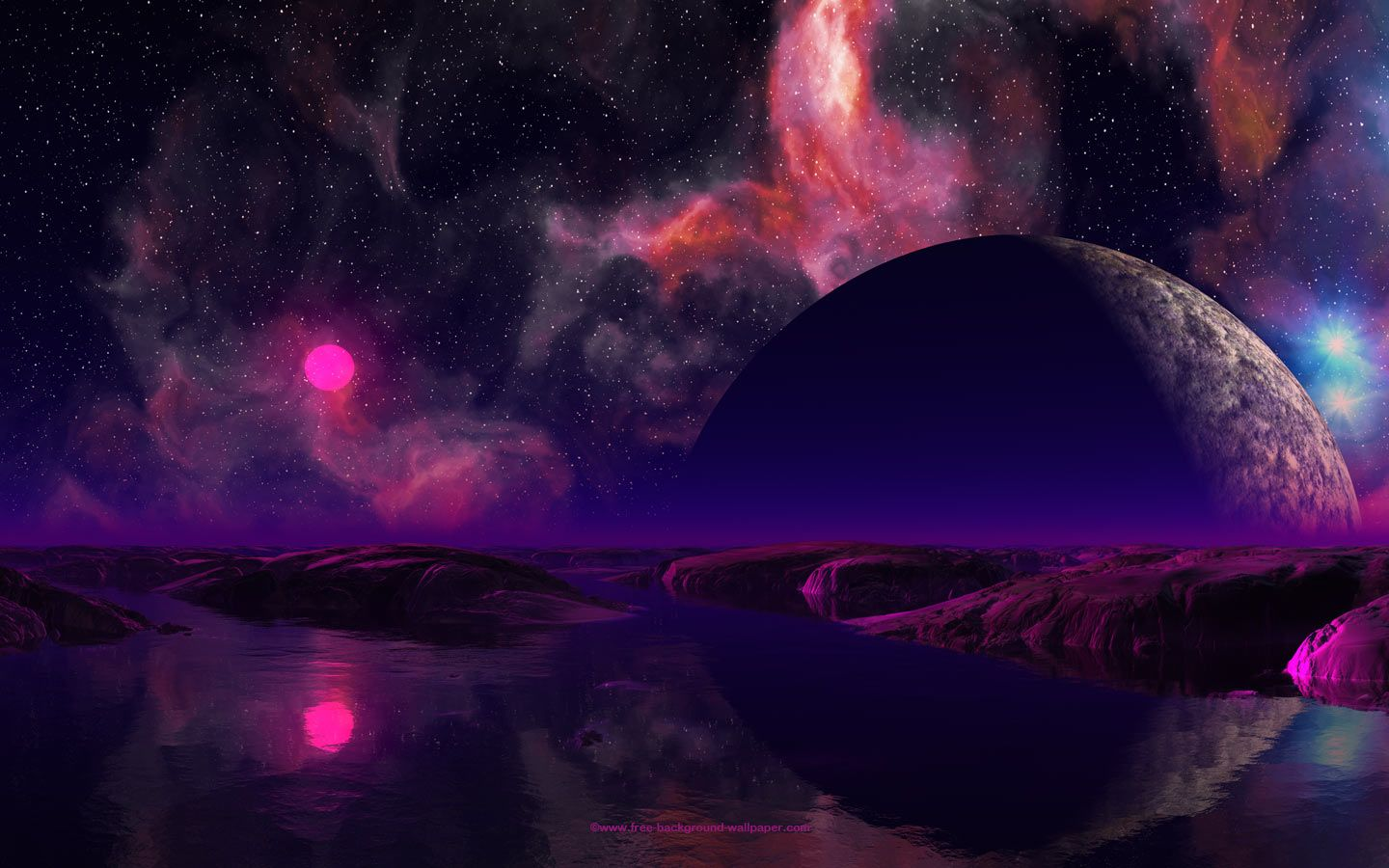 alien water planet - photo #10