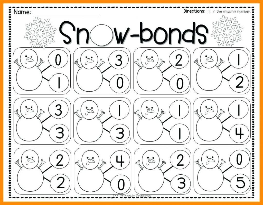 Free Number Bonds Worksheets Pictures