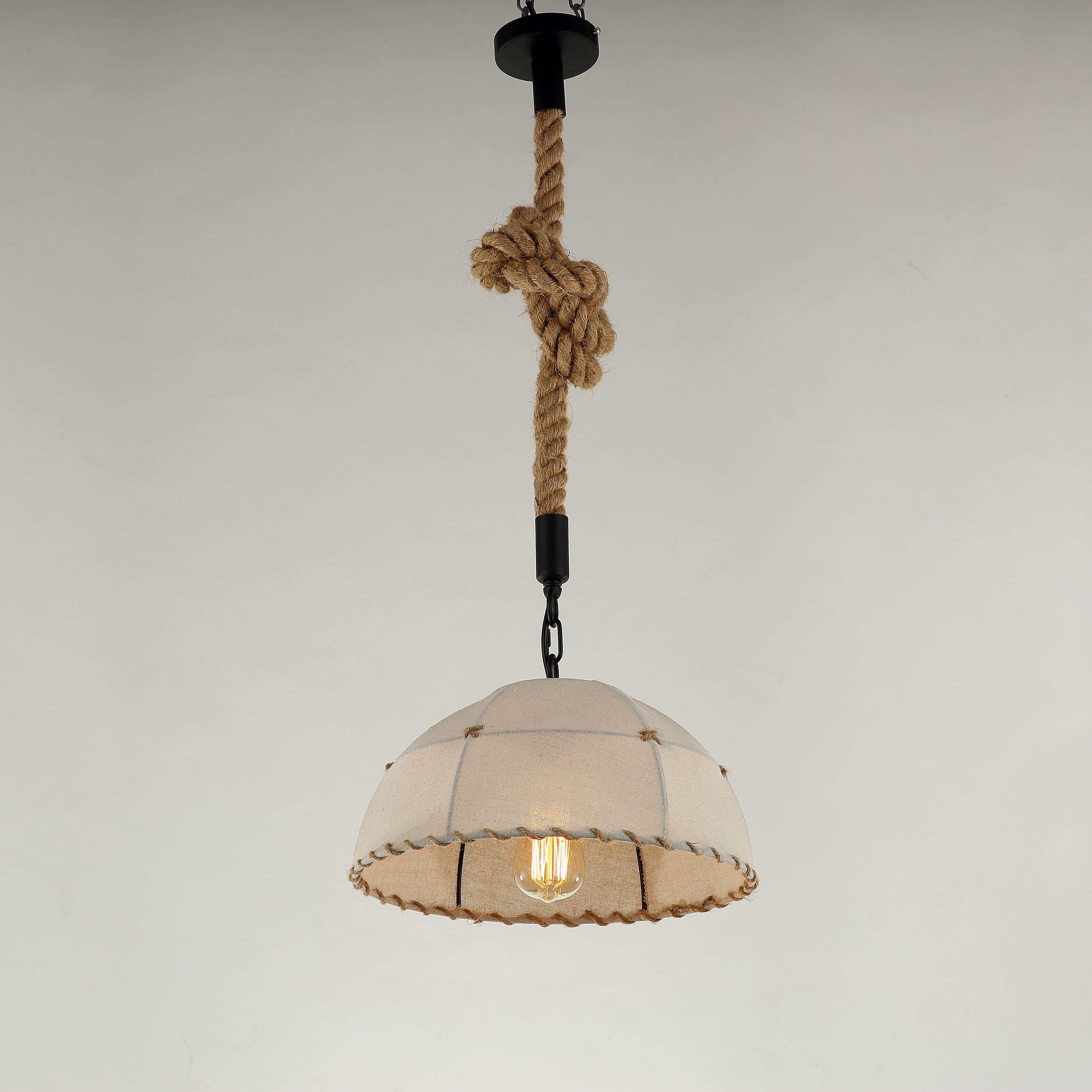 vintage kitchen lighting fixtures. Vintage Hand Knitting Lamp Pendant Lights Fixture Hemp Rope Lampshade E27 Holder For Kitchen Light Lampe Lighting Fixtures L