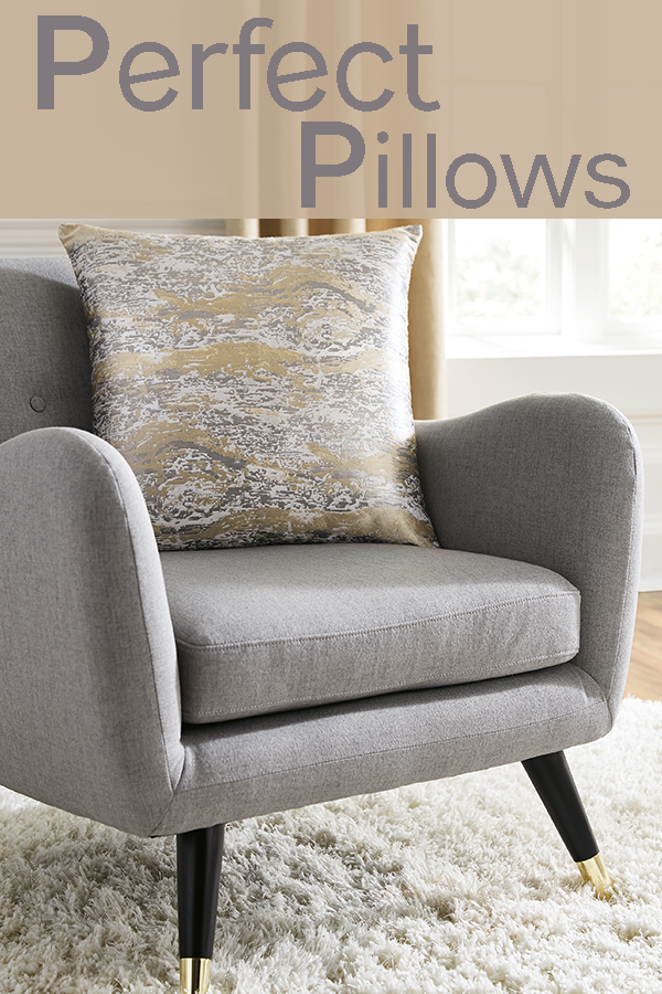 Add The Perfect Pillows To Your Bed Sofa Or Accent Chair Throw Pillows Can Accentuate The Color Of Your Furniture Furniture Living Room Furniture Home Decor