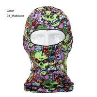 Outdoor Dustproof Motorcycle Neck Protecting cotton Balaclava Full Face Mask