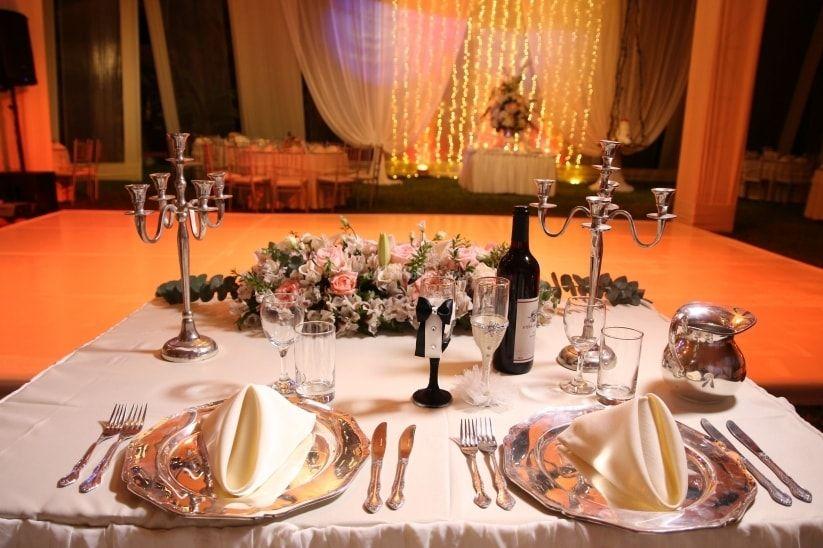 Sweetheart Table: Mesa especial para los novios