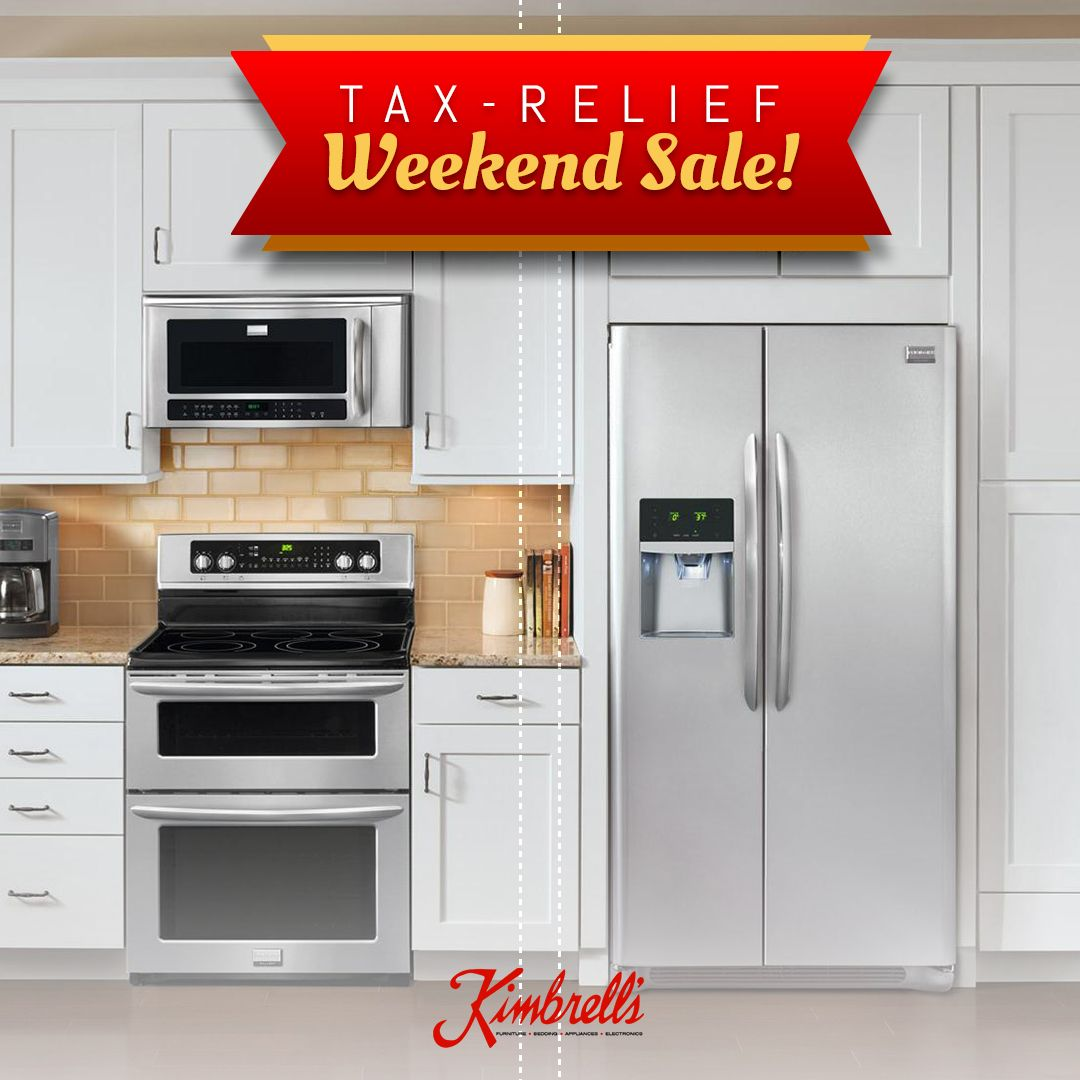 Get the appliances of your dreams during our tax relief ...