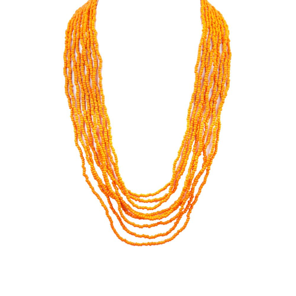 I love the Ben Amun Seed Bead Necklace from LittleBlackBag
