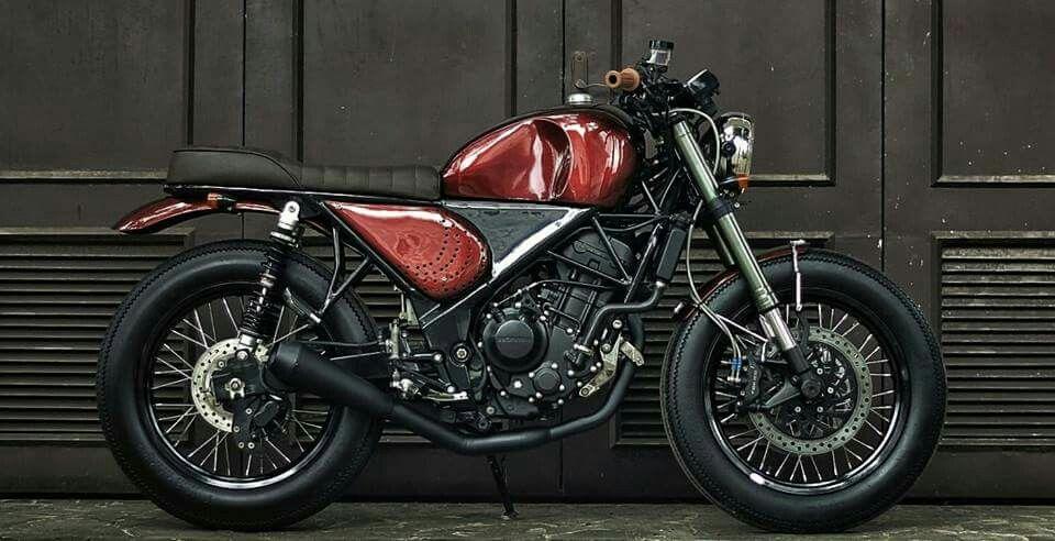 Honda Cbr 250r Urban Tracker By Studio Motor Jakarta Moto Honda