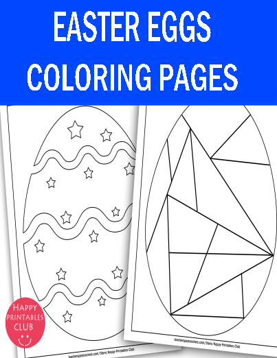 Easter Egg Coloring Pages Fun Easter Coloring Coloring Easter Eggs Easter Egg Coloring Pages Easter Colouring