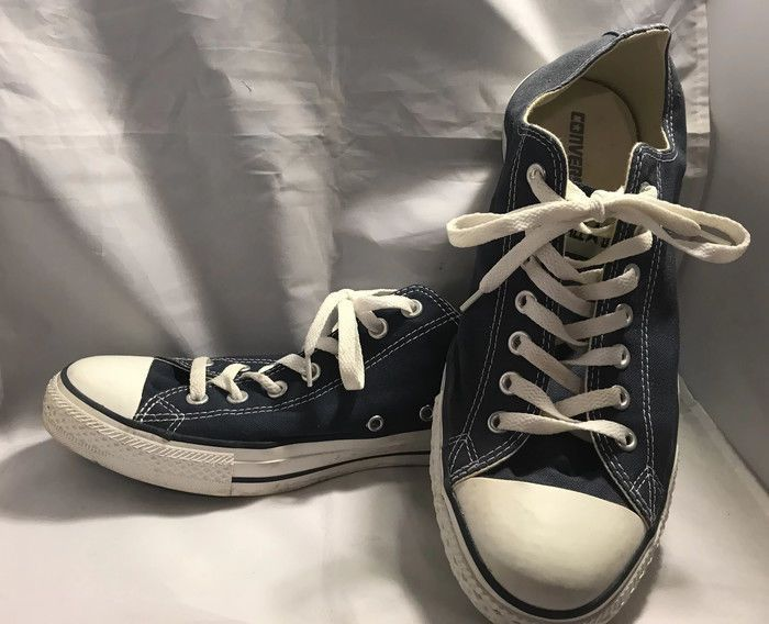 2fb414b8abf Mens Converse All Star Low Top Chuck Taylor Chucks Lace Up Trainer-Navy  Size 11