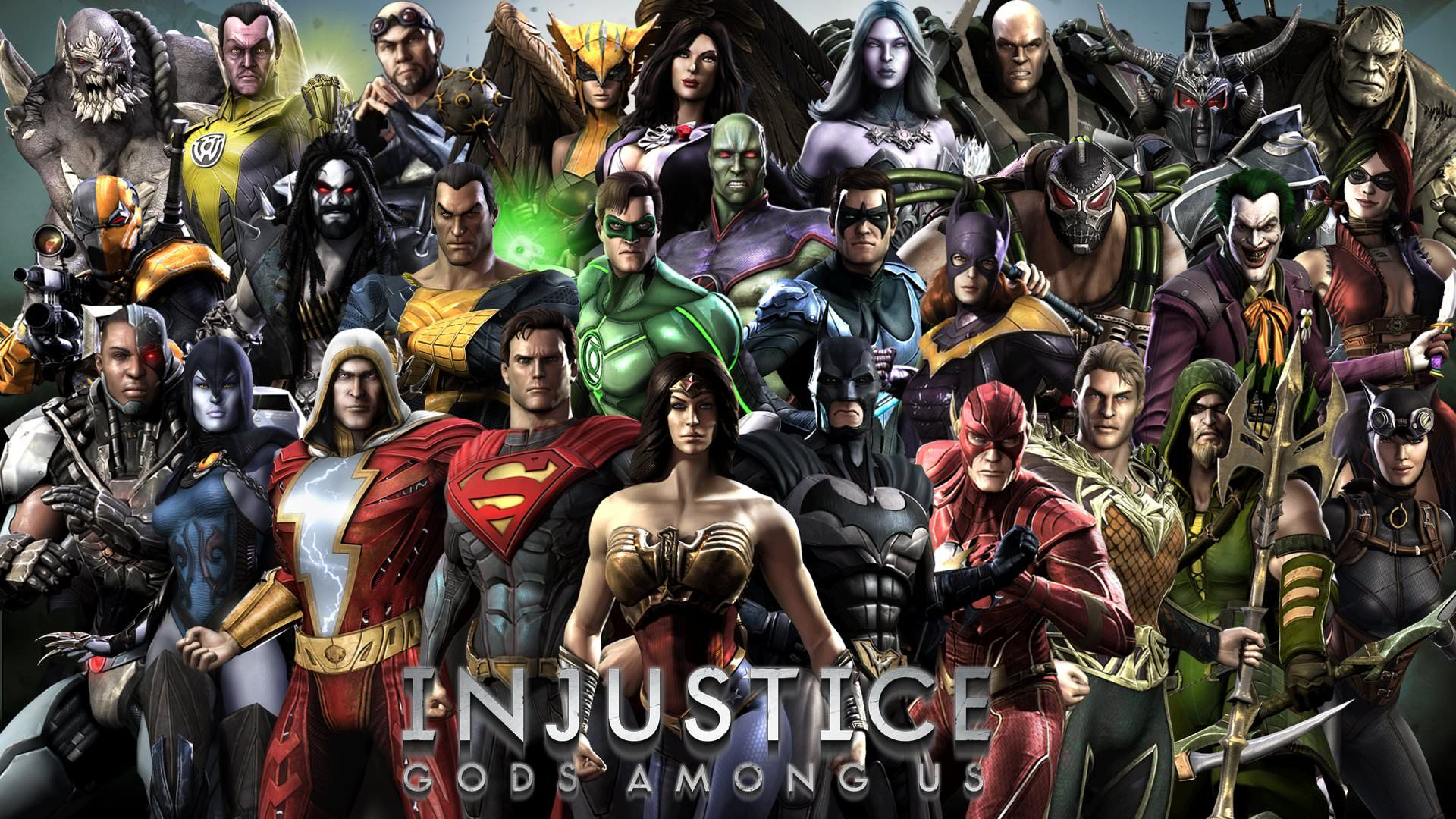 Pin by Randomtv on Dc in 2020 Injustice, Injustice game