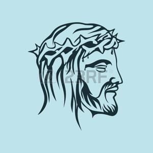 Resultado De Imagen Para Dibujos De Jesus Con La Corona De Espinas