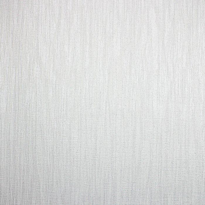 Milano Texture Plain Glitter Wallpaper White M95563
