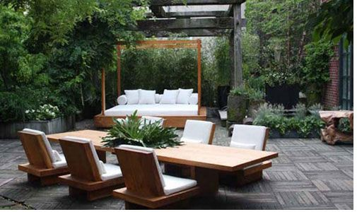 Donna Karan Home Zen Design Garden Furniture Outdoor Sets