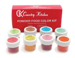 Powdered food coloring...the only way to ensure your macarons don\'t ...