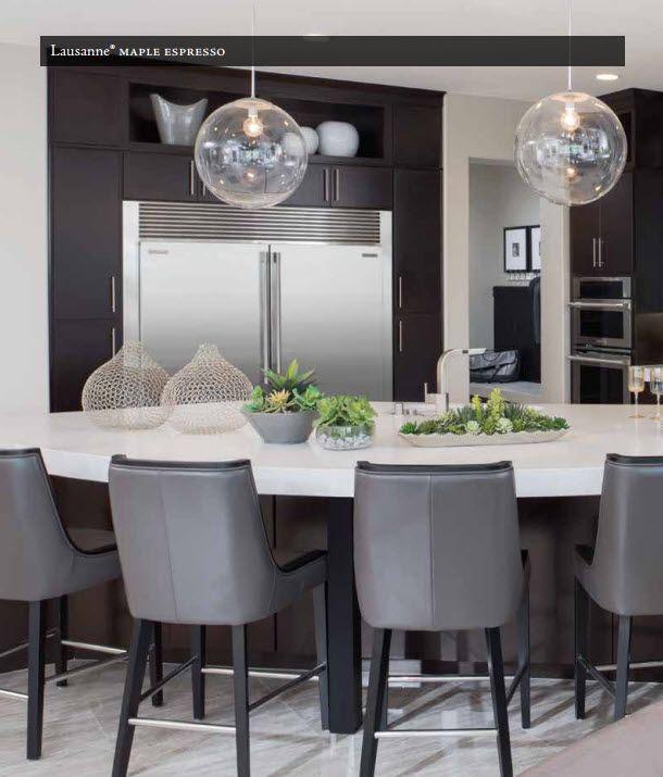 Best Timberlake Lausanne Maple Espresso Level 4 Kitchen With 400 x 300