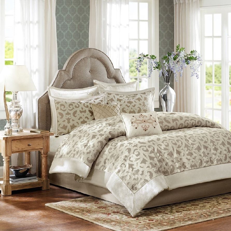 branches design set gold pieces collections ivory comforter tree bedding embroidery joy