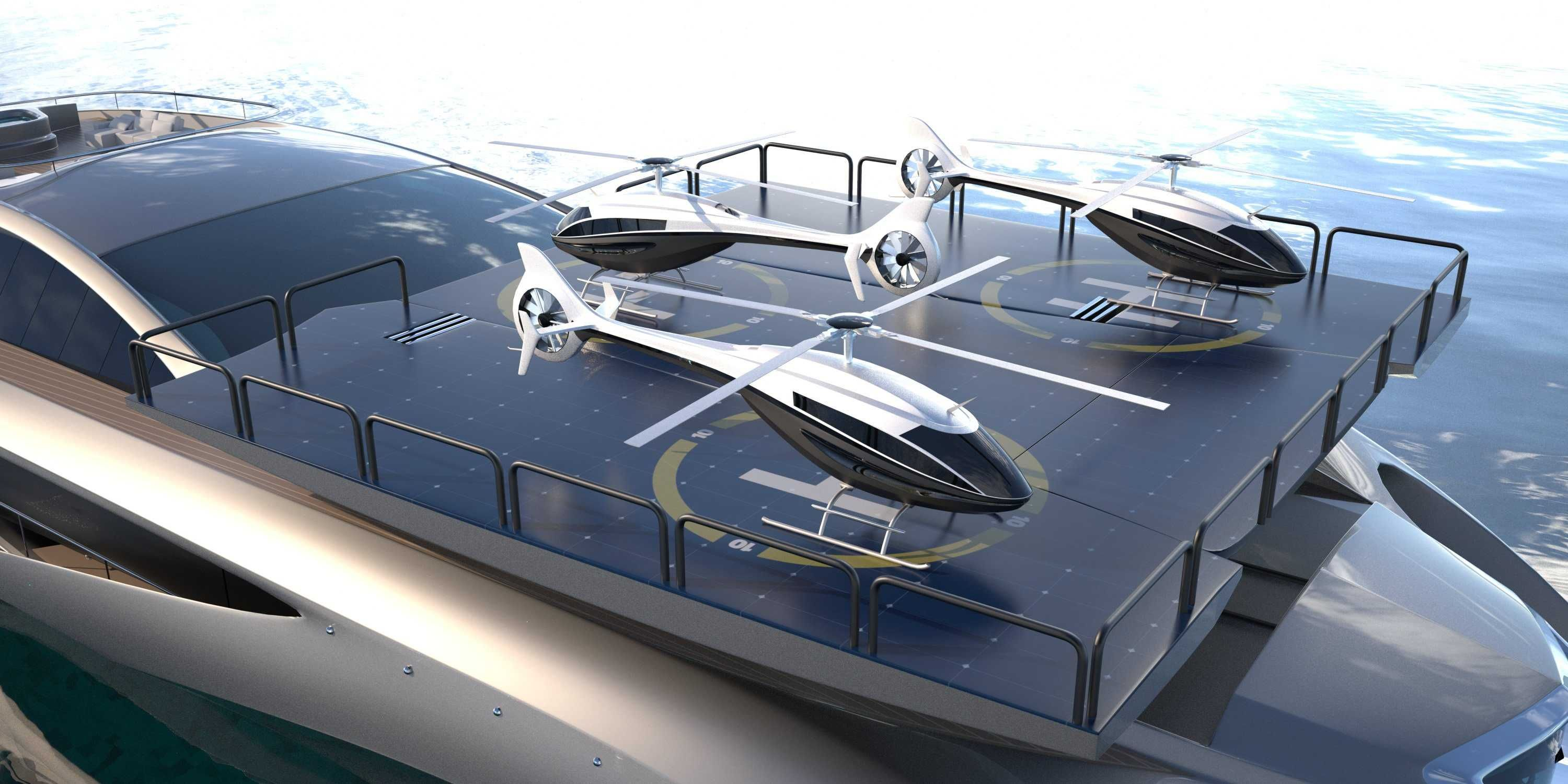 Superyacht With Matching Supercar Business Insider Super Yachts Luxury Yachts Luxury Helicopter