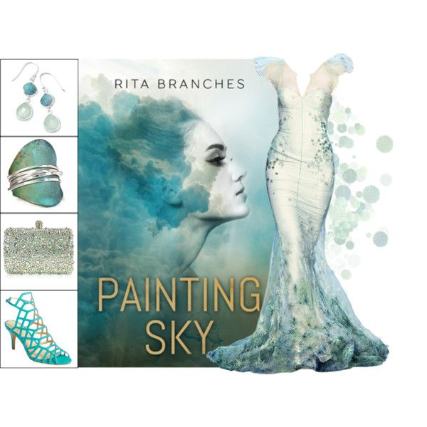 Book Look: Painting Sky By Rita Branches by xmikky on Polyvore featuring moda, Vince Camuto, Rodo, Robert Lee Morris and BillyTheTree