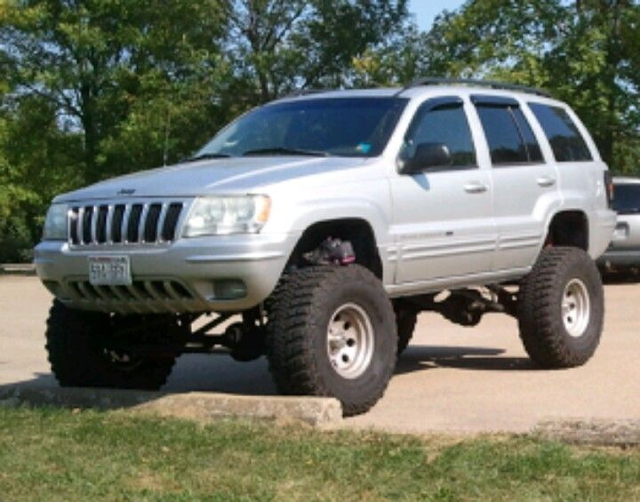 My 2002 Jeep Grand Cherokee 8in Lift And 35s Jeep Zj Jeep Wj