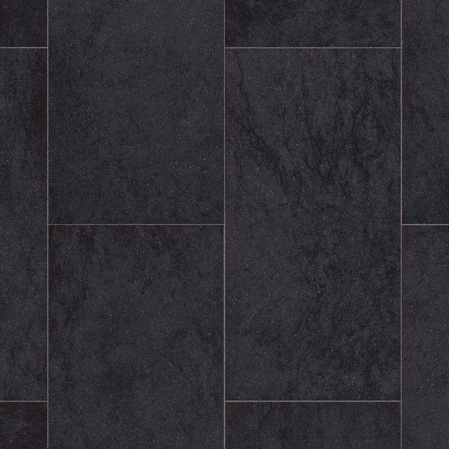 Amalfi Black Black Vinyl Flooring Vinyl Sheet Flooring Vinyl Flooring