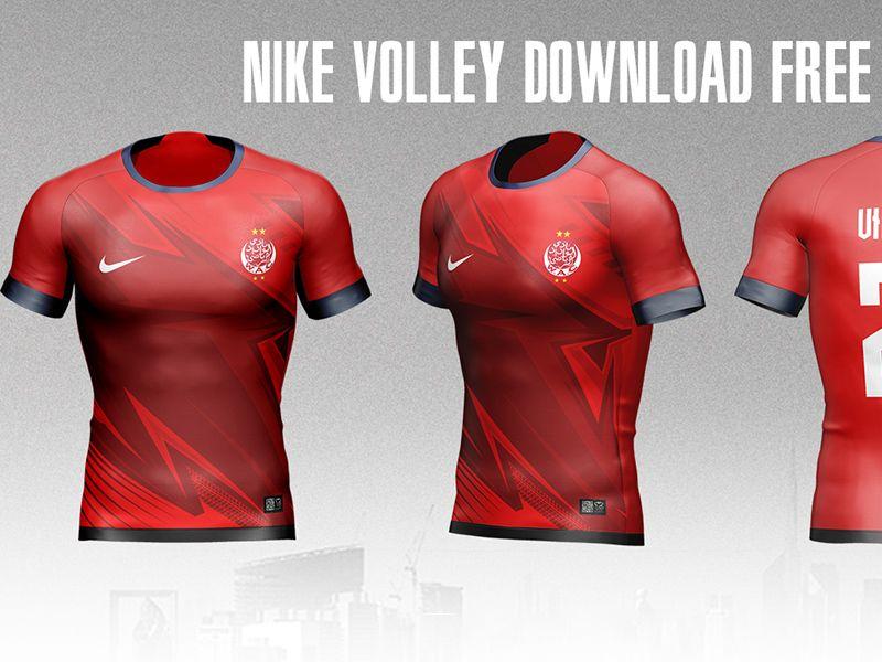 Download Free Nike Football Jersey Mockup Nike Football Team Logo Design Football