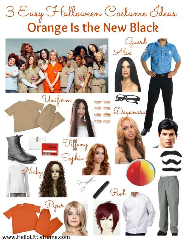 3 Easy Diy Storage Ideas For Small Kitchen: 3 Easy Halloween Costume Ideas: Orange Is The New Black