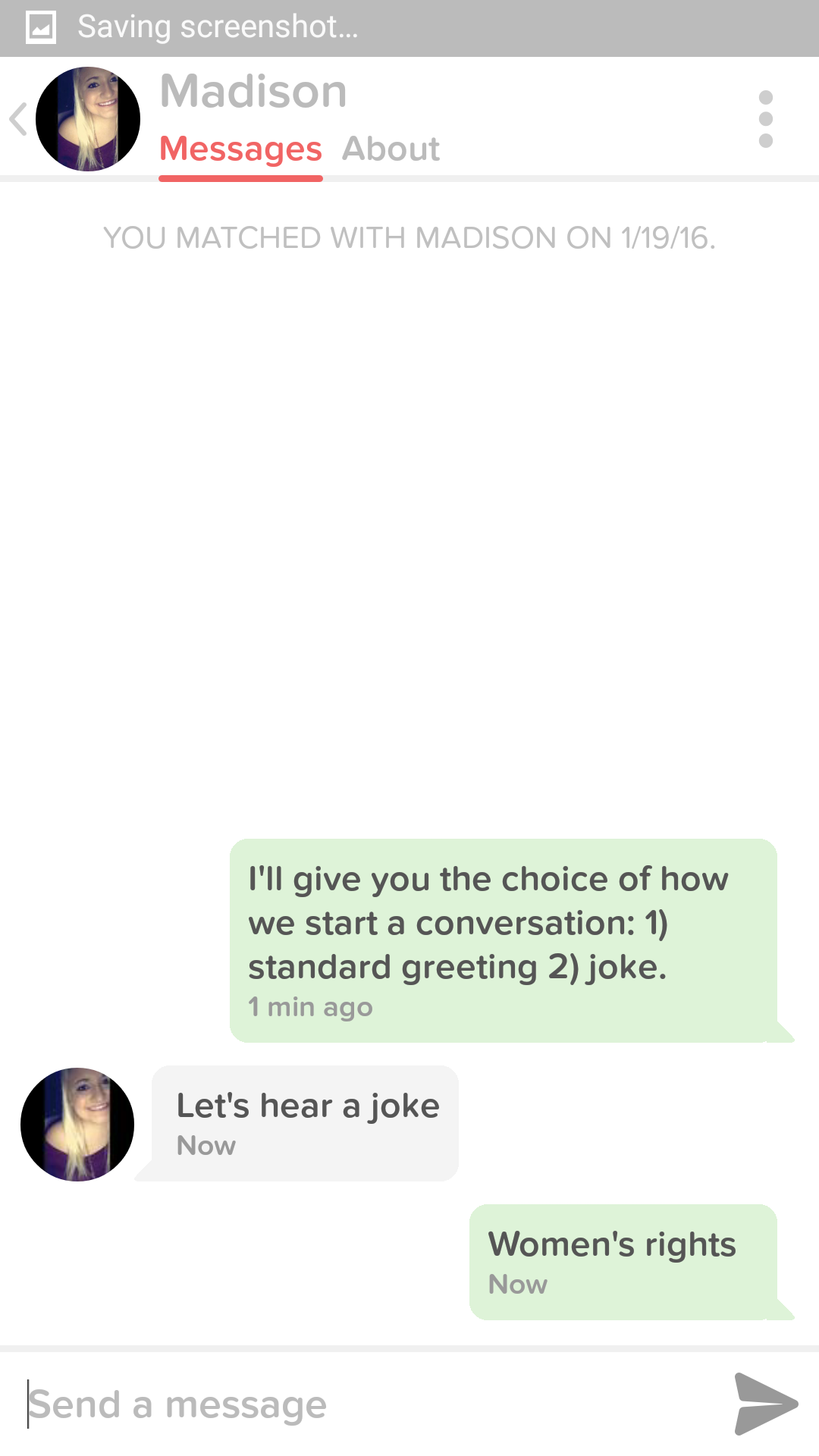 How To Get Laid On Tinder Tumblr Funny Jokes Funny Jokes