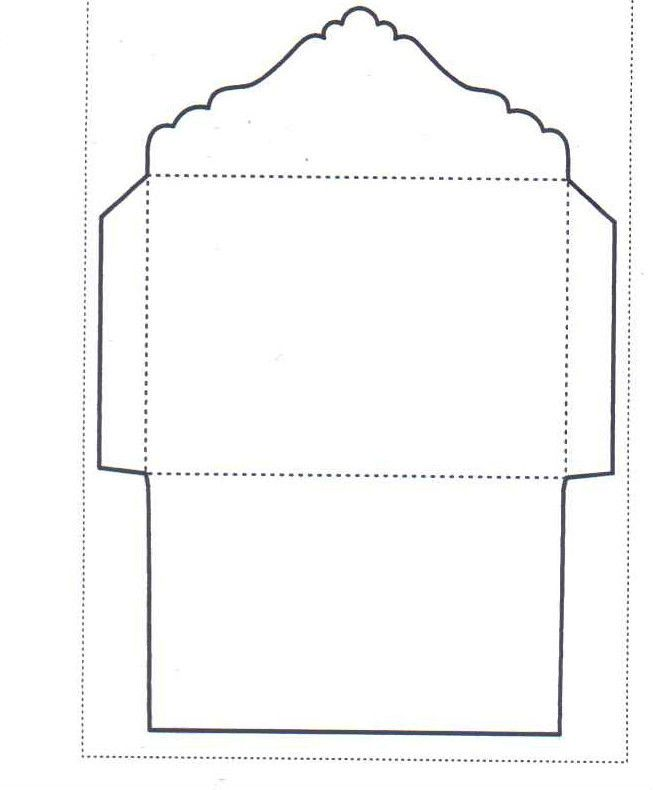 C6 Envelope Template - WS Designs - Tempting Templates Stencil - 4x6 envelope template