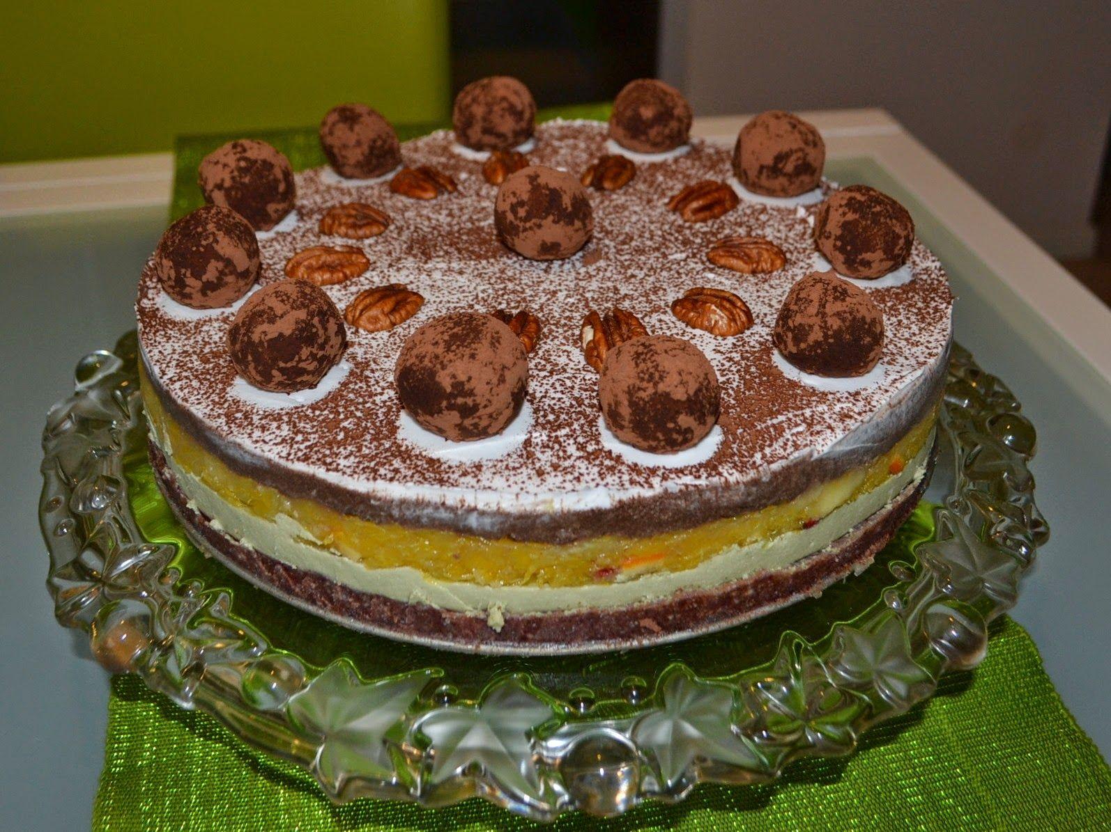Citrus vegan layer cake mit bildern