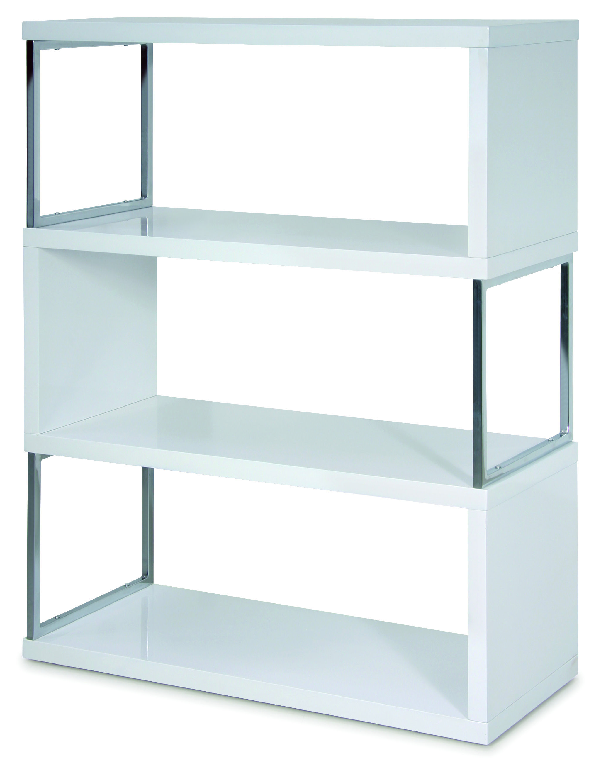 S Unit 4381 Elegant Book Shelves Mdf
