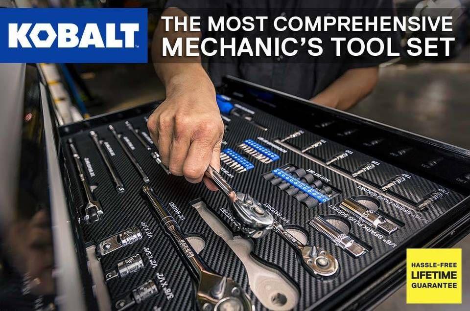 Kobalt 300 Piece Standard Sae And Metric Polished Chrome Mechanics Tool Set Lowes Com Mechanics Tool Set Mechanic Tools Tool Set
