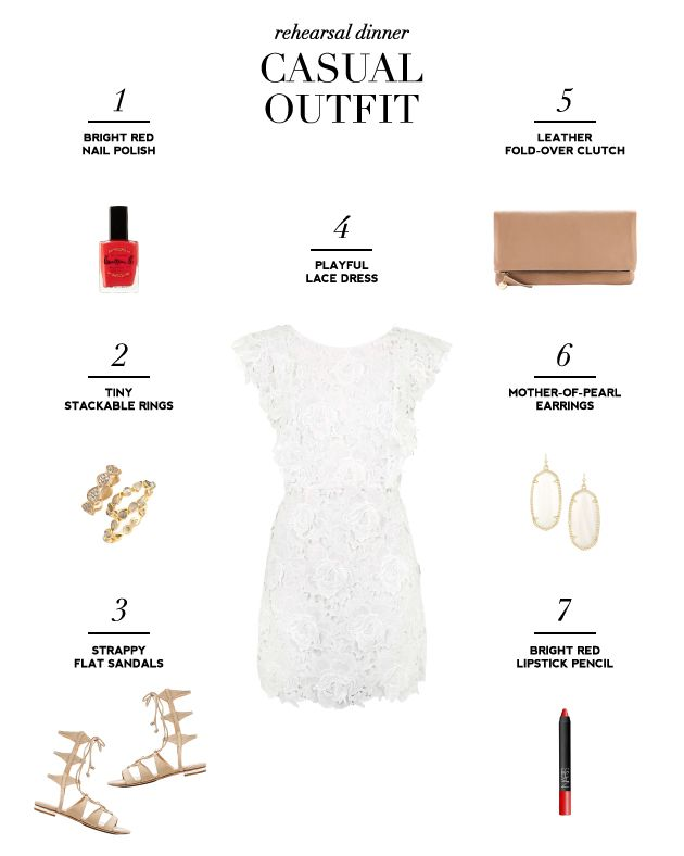 Stylish Rehearsal Dinner Dresses for Brides – Cool Casual Outfit | Bridal Musings Wedding Blog