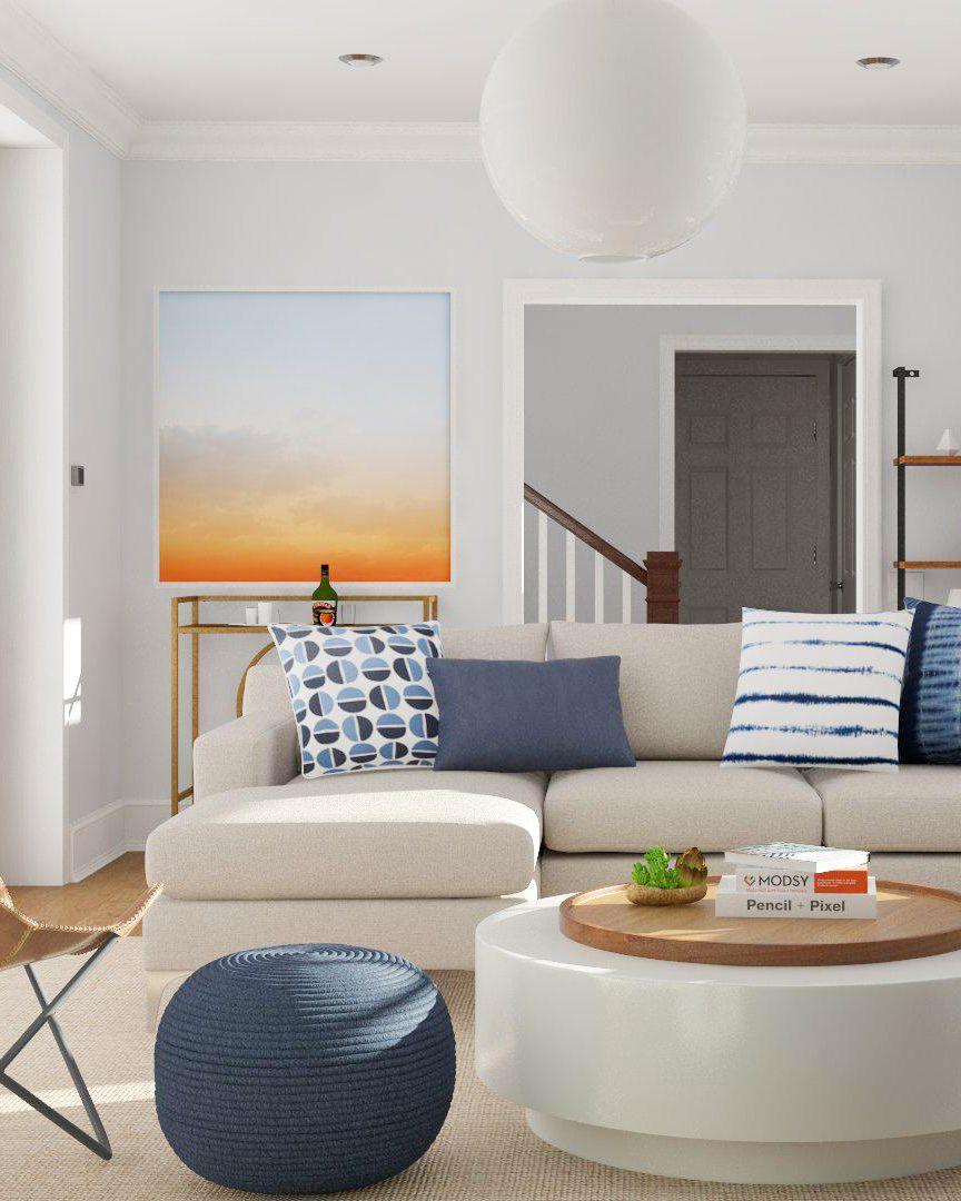 Style Spotlight: Mod Visionary | Mid century modern living room ...