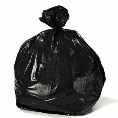 55 60 Gallon Trash Bags 38w X 58h 1 2 Mil Black 100 Case Trash Bag Trash Bags Drawing Bag
