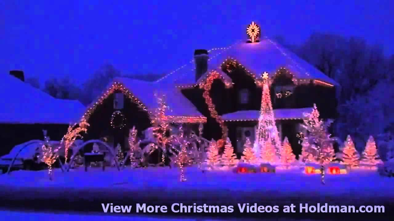 Holdman Christmas Lights Amazing Grace Techno Youtube Romanticismo Navidad