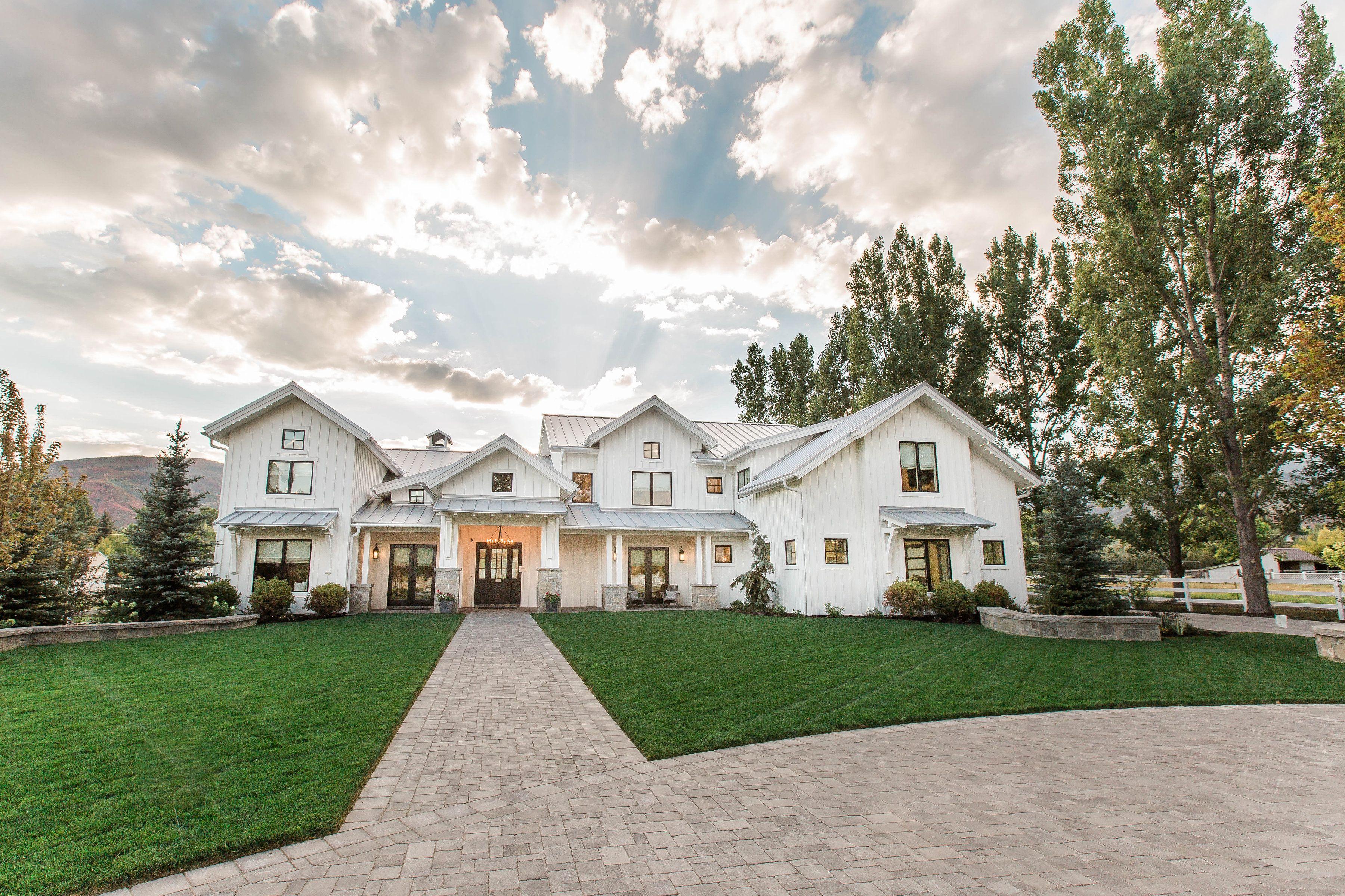 Lane Myers Construction Utah Custom Home Builders Midway