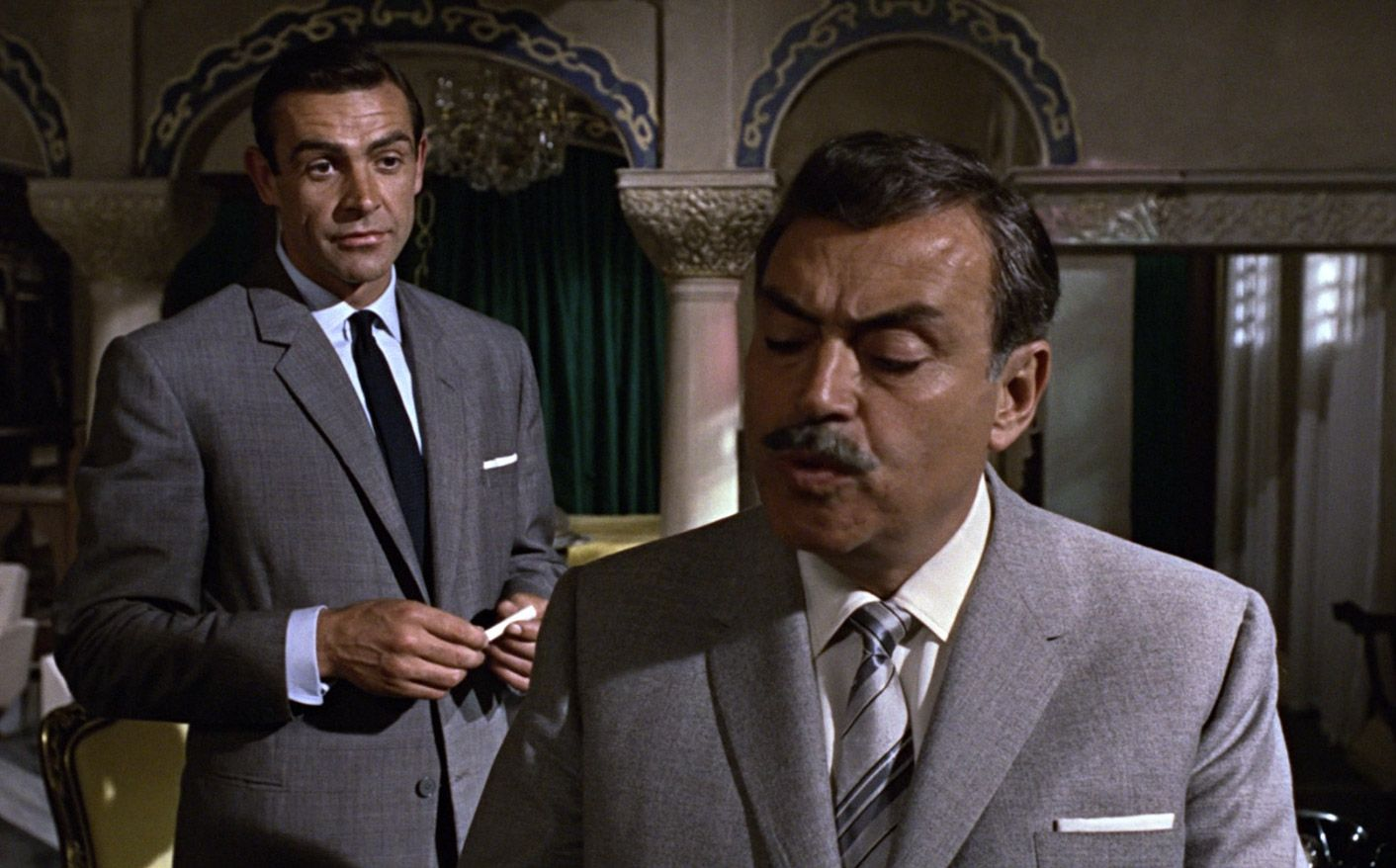 Sean Connery Pedro Armendariz From Russia With Love With