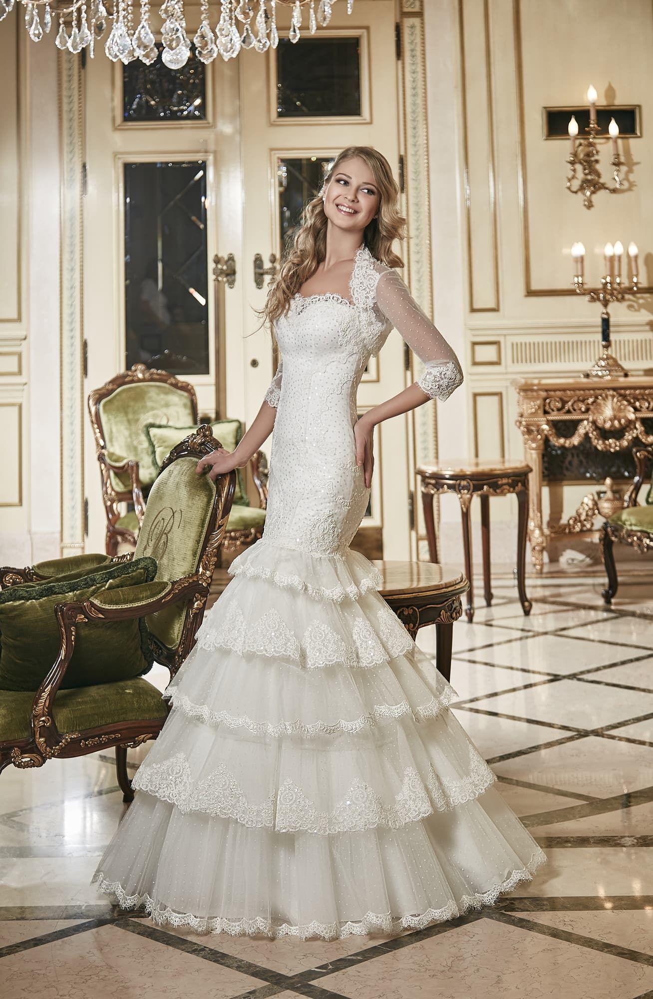 ce4b9d74b705ac4 Свадебное платье Eva Utkina KONSUELA ▷ Свадебный Торговый Центр Вега в  Москве